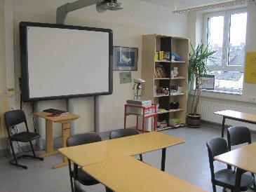 Lehrerraum von Frau Bastian